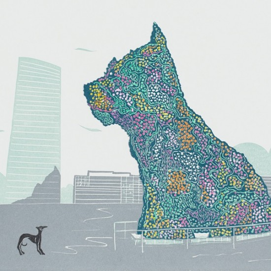 gwen-scott-dog-meets-puppy-bilbao