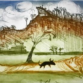 arthur-boyd-untitled-black-dog
