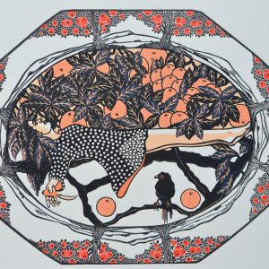scott-gwen-orange-tree-plate